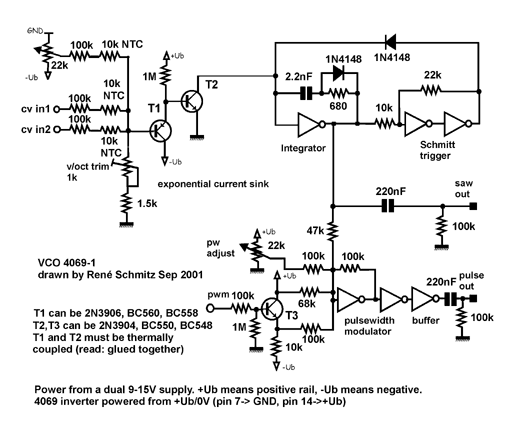 Guide Vco Schematic on