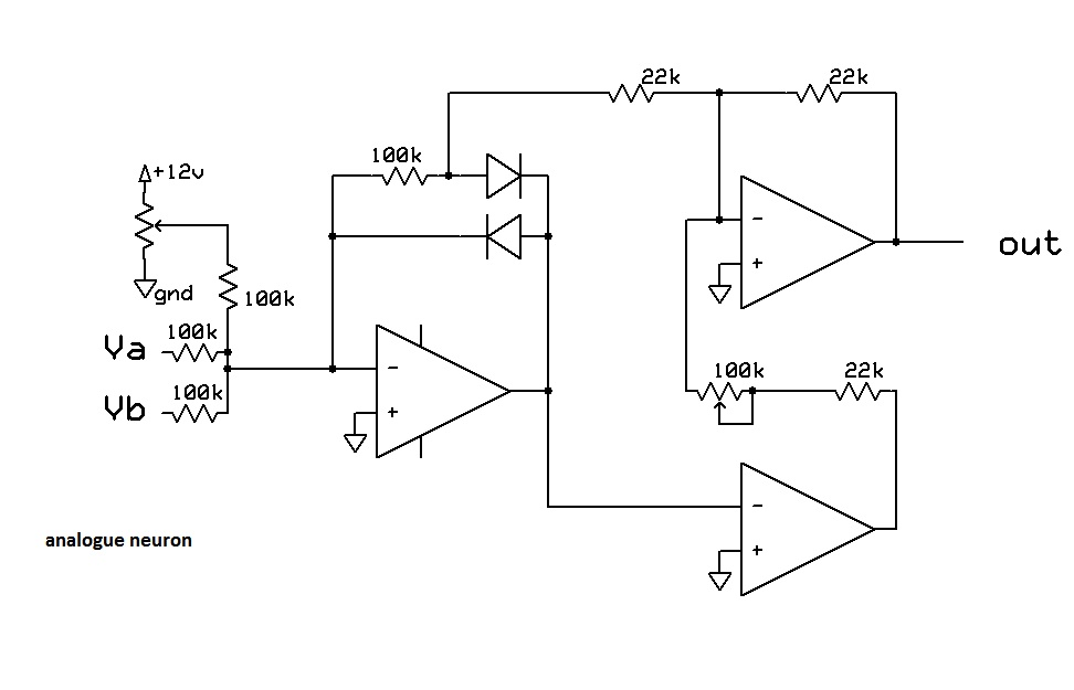 Neuron circuit diagram auto electrical wiring diagram muff wiggler view topic analogue neuron circuit rh muffwiggler com neuron schematic diagram motor neuron diagram ccuart Image collections